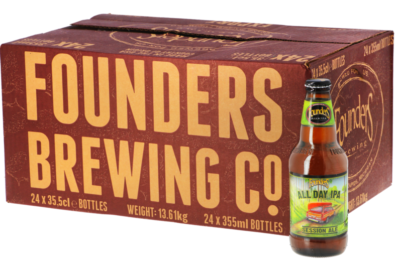 Bouteilles - Big Pack Founders All day IPA - 24 bières