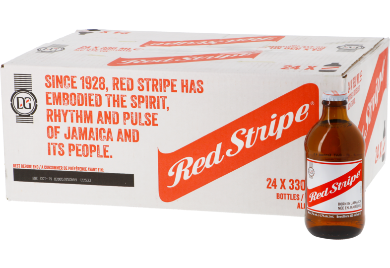 Big packs - Big Pack Red Stripe - 24 bières