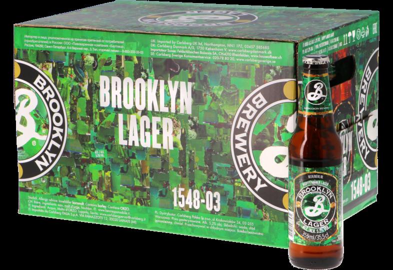 Big packs - Brooklyn Lager Big Pack - 24x35.5cl