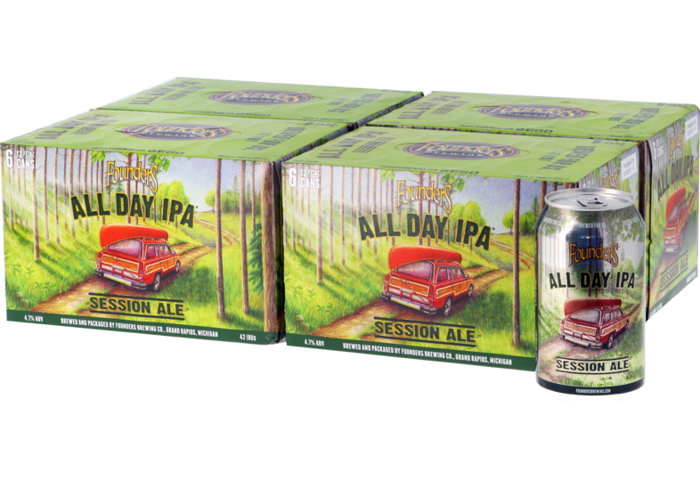 Bouteilles - Big Pack Founders All Day IPA - 24 Canettes