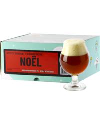 Kit à bière tout grain - Recette Bière de Noël - Recharge pour Beer Kit Débutant