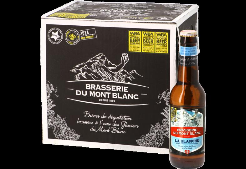 Bouteilles - Big Pack Blanche du Mont Blanc - 12 bières
