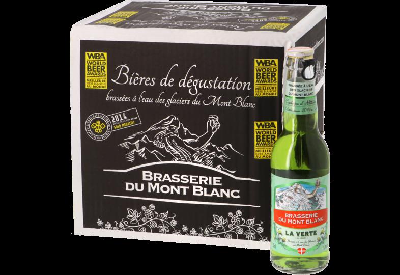 Bouteilles - Big Pack Verte du Mont Blanc - 12 bières