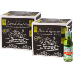 Bottled beer - Big Pack Verte du Mont Blanc x24