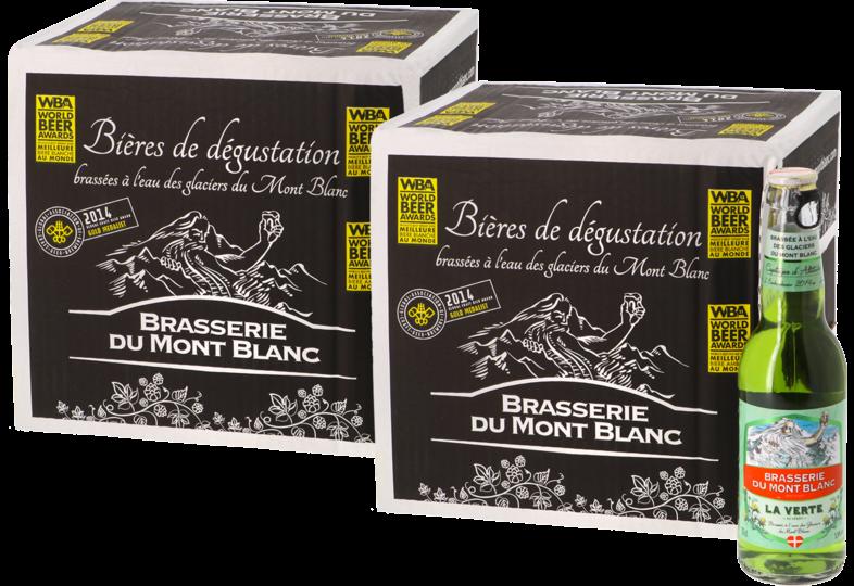 Flaskor - Big Pack Verte du Mont Blanc x24