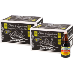 Bottled beer - Big Pack Blonde du Mont Blanc x24