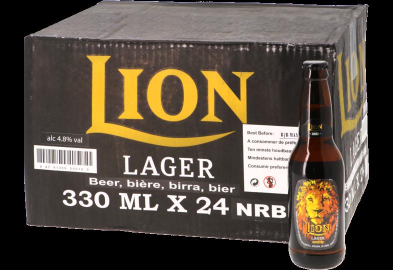Bottled beer - Big Pack Lion Lager x24