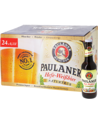 Bottled beer - Big Pack Paulaner Hefe-Weissbier 24x