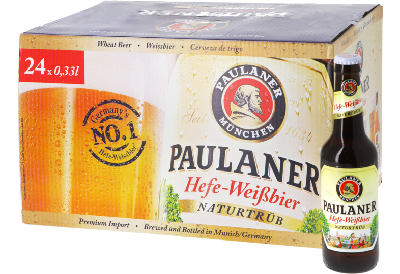 Bottled beer - Big Pack Paulaner Hefe-Weissbier 24x