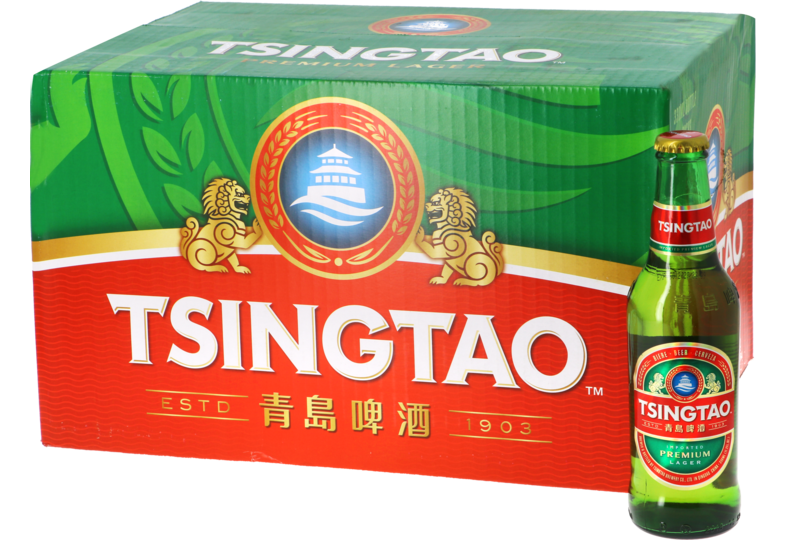 Flaskor - Big Pack Tsingtao x24