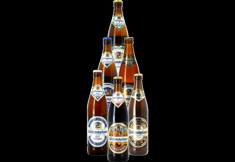 assortiments - Pack Weihenstephaner - 6 bières