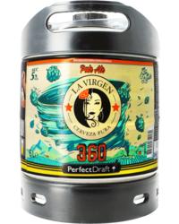 Fûts de bière - Fût 6L La Virgen 360