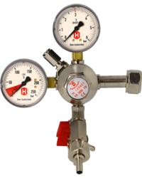 Détendeurs et bouteilles de gaz - Detendeur primaire pour CO2 pour 2 fûts 3 Bar maximum