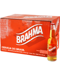 Bottled beer - Big Pack Brahma - 24 bières