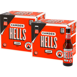 Botellas - Camden Hells Lager Big Pack - 24