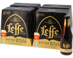Bottiglie - Big Pack Leffe Royale Blonde - 24 bières