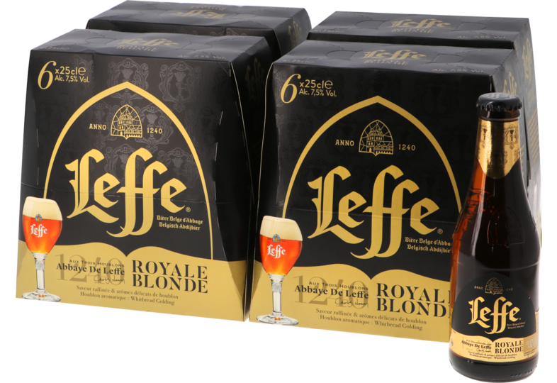 Flaskor - Big Pack Leffe Royale Blonde - 24 bières