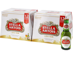 Bottled beer - Stella Artois Big Pack - 24 pcs