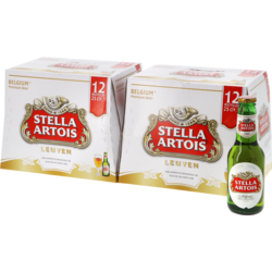 Flaskor - Big Pack Stella Artois - x24