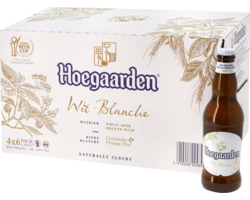 Botellas - Big Pack Hoegaarden Wit - 24 bières