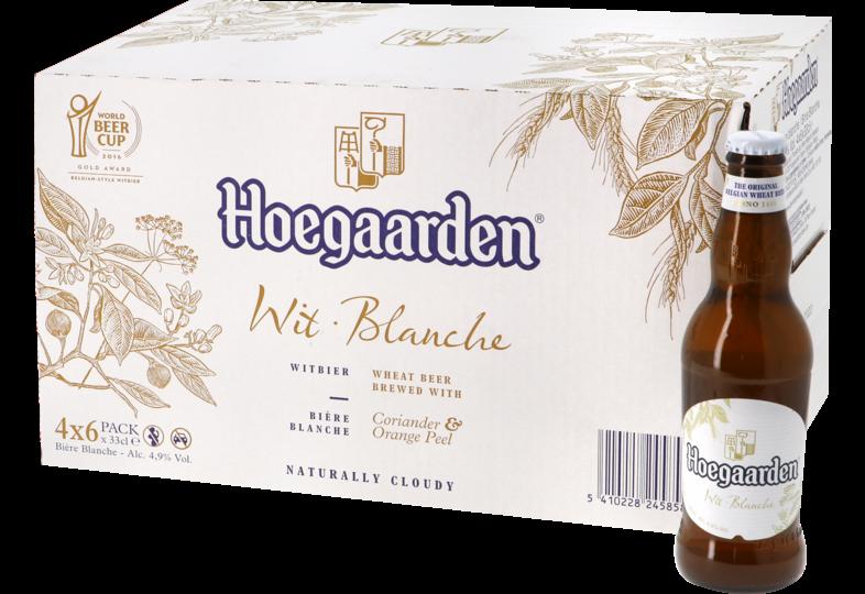 Bottled beer - Big Pack Hoegaarden Wit - 24 bières