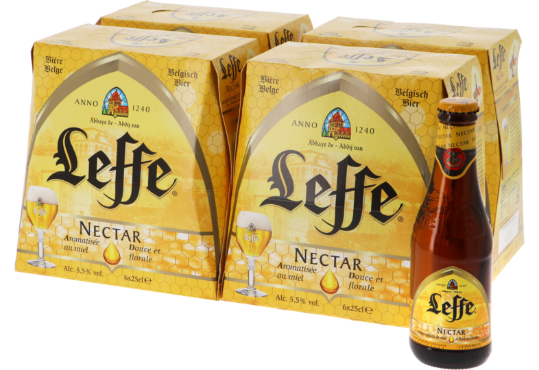 Botellas - Big Pack Leffe Nectar - 24 bières