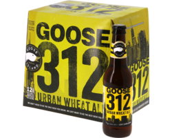 Botellas - Big Pack Goose Island 312 Urban Wheat Ale - 12 bières