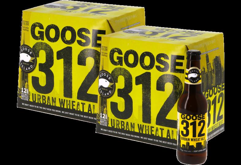 Bouteilles - Big Pack Goose Island 312 Urban Wheat Ale - 24 bières