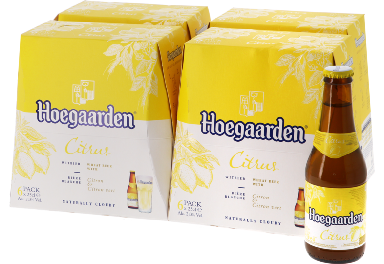 Flessen - Big Pack Hoegaarden Radler Lemon and Lime - 24 bières