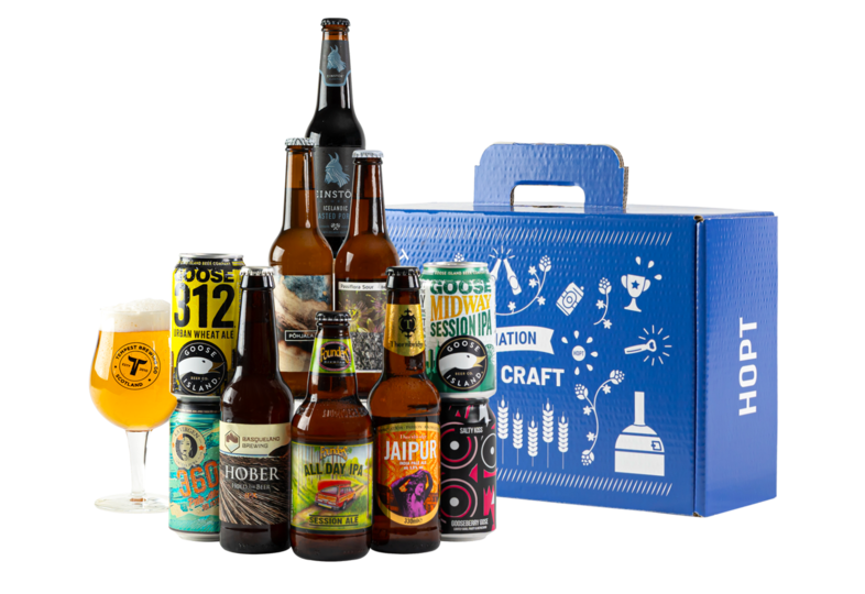 Accessoires et cadeaux - Coffret Initiation Bière Craft