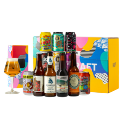 Accessori e regali - Craftbeer Tasting Pack 12x33cl