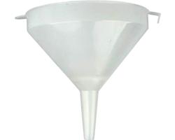 Accessoires du brasseur - Entonnoir en plastique -15 cm avec tamis