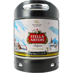 Fässer - Stella Artois Holidays PerfectDraft 6-litre Fass