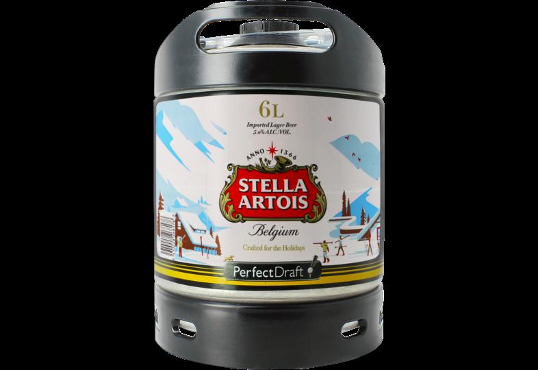 Fûts de bière - Fût 6L Stella Artois Holidays