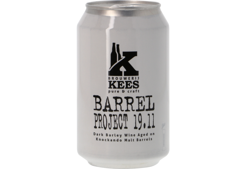 Flessen - Kees Barrel Project 19.11 - Knockando BA