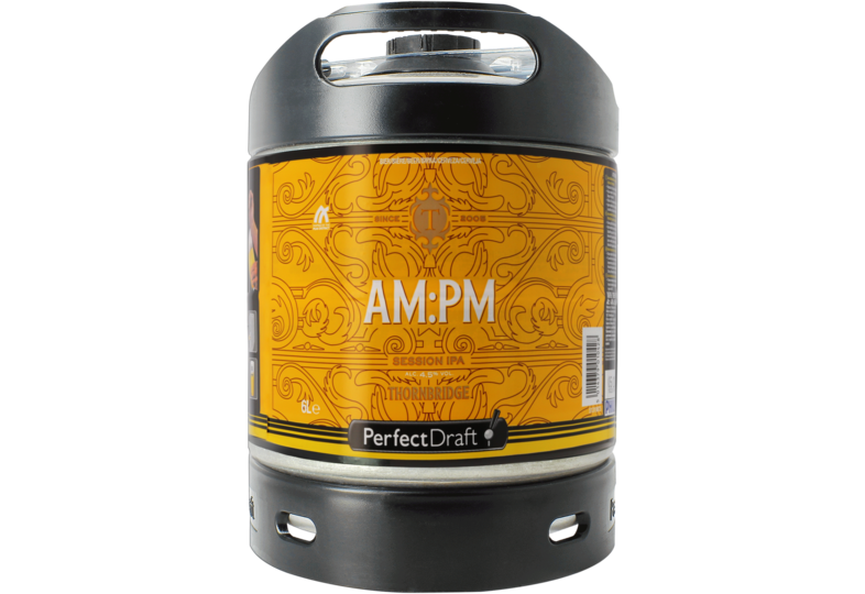 Bier Tapvatjes - Thornbridge AM:PM PerfectDraft Vat 6L