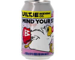 Bottled beer - Mind Your Step Moyee Coffee Edition