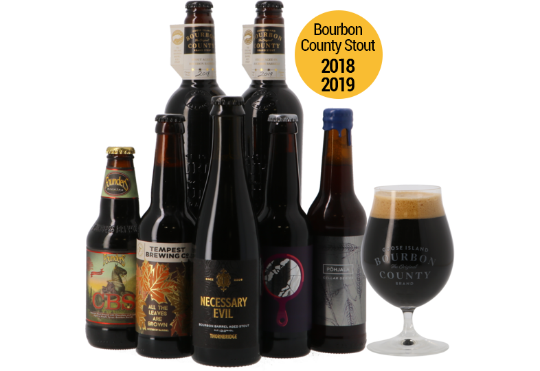 Bier packs - Bourbon Madness Pack