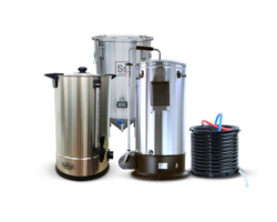 Brassage - Pack Trio Brassage & Fermentation - Grainfather Connect + Sparge Water +  Brew Bucket BME 7 Gal Ss Brewtech