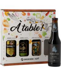 Coffrets Saveur Bière - Coffret A Table