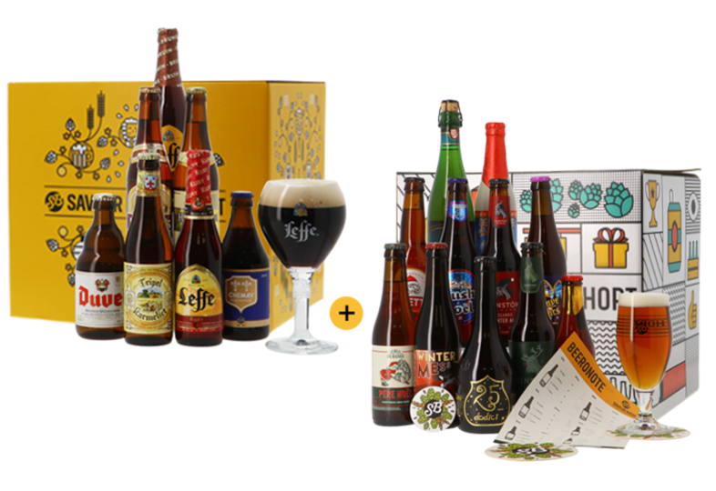 Cofanetto di birra - Offre Coffret Bière Tradition + Coffret Bières de Noël