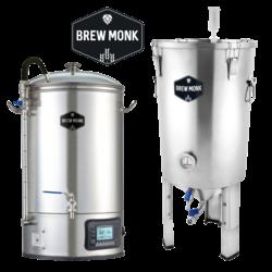Cuves de brassage - Pack Duo  Brew Monk - Cuve de brassage 30 L + Cuve de fermentation 30 L