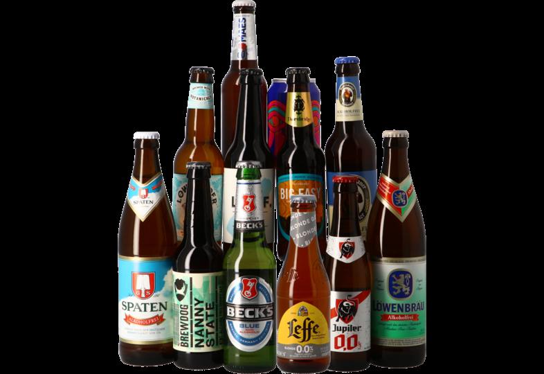 Cofanetto di birra - Assortiment 12 bières sans alcool