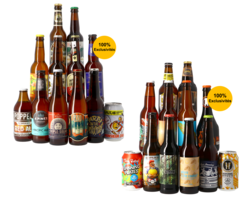 Beer Collections - Assortment of Classic styles  + Gift Pack Unique