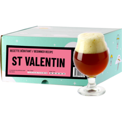Ölkit & receptkit - Recette Bière St Valentin - Recharge pour Beer Kit Débutant