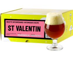 Kit à bière & Recharge beer kit - Recette Bière St Valentin - Recharge pour Beer Kit Intermédiaire
