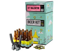 Thuisbrouwpakket - Bierbrouwpakket voor beginners compleet - Valentijn Bier