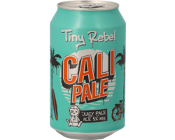 Bouteilles - Tiny Rebel Cali Pale - Canette