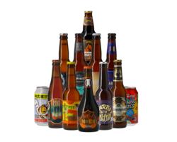 Pack de cervezas artesanales - Assortiment A la découverte des styles