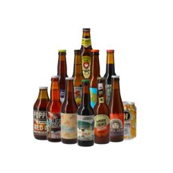 Cofanetti di birra artigianale - Assortimento 12 birre esclusive